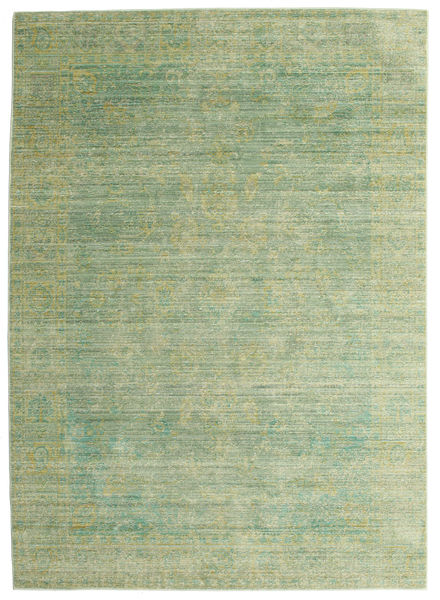 Maharani - Vert Tapis 140X200 Moderne Vert Clair/Vert Olive ( Turquie)