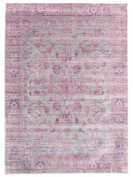 Maharani - Gris/Rose Tapis 160X230 Moderne Rose Clair/Violet Clair ( Turquie)