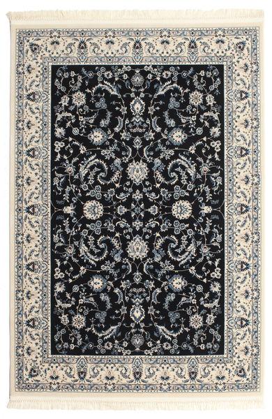 Naïn Florentine - Bleu Foncé Tapis 120X180 D'orient Gris Clair/Beige/Noir ( Turquie)