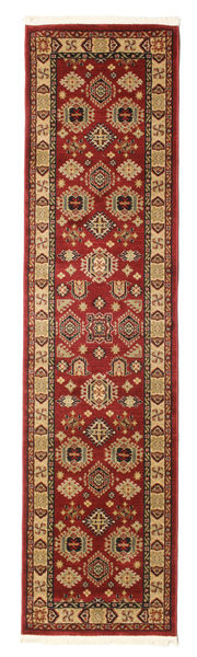 Chirvan Kazak Tapis 80X300 D'orient Tapis Couloir Rouge Foncé/Marron Clair ( Turquie)