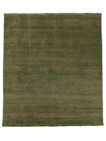 Handloom Fringes - Vert Tapis 250X300 Moderne Vert Olive Grand (Laine, Inde)
