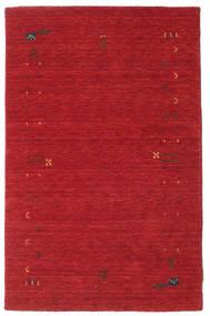 Gabbeh Loom Frame - Rouille Rouge Tapis 100X160 Moderne Rouge (Laine, Inde)