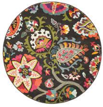 Allegra - Foncé Tapis Ø 150 Moderne Rond Gris Foncé ( Turquie)