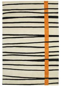 Gummi Twist Handtufted - Orange Tapis 200X300 Moderne Beige Foncé/Noir (Laine, Inde)