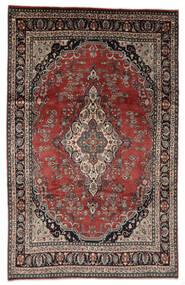 Hamadan Shahrbaf Patina Tapis 208X328 D'orient Fait Main Marron Clair/Rouge (Laine, Perse/Iran)