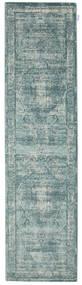 Jacinda - Clair Tapis 80X300 Moderne Tapis Couloir Gris Clair/Bleu Turquoise/Gris Foncé ( Turquie)