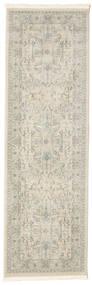 Ziegler Manhattan Tapis 80X250 D'orient Tapis Couloir Gris Clair/Beige Foncé ( Turquie)