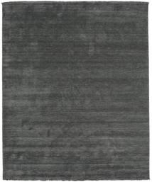 Handloom Fringes - Gris Foncé Tapis 250X300 Moderne Vert Foncé/Vert Foncé Grand (Laine, Inde)