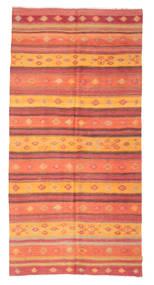 Kilim Semi-Antique Turquie Tapis 156X317 D'orient Tissé À La Main Orange/Rouille/Rouge (Laine, Turquie)
