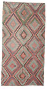 Kilim Semi-Antique Turquie Tapis 170X334 D'orient Tissé À La Main Gris Clair/Blanc/Crème (Laine, Turquie)