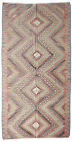 Kilim Semi-Antique Turquie Tapis 174X341 D'orient Tissé À La Main Gris Clair/Rose Clair (Laine, Turquie)