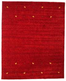 Gabbeh Loom Two Lines - Rouge Tapis 240X290 Moderne Rouge (Laine, Inde)