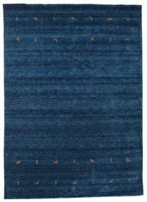 Gabbeh Loom Two Lines - Bleu Foncé Tapis 240X340 Moderne Bleu Foncé (Laine, Inde)