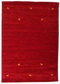 Gabbeh Loom Two Lines - Rouge Tapis 160X230 Moderne Rouge/Rouge Foncé (Laine, Inde)