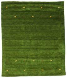 Gabbeh Loom Two Lines - Vert Tapis 240X290 Moderne Vert Foncé/Vert Olive (Laine, Inde)