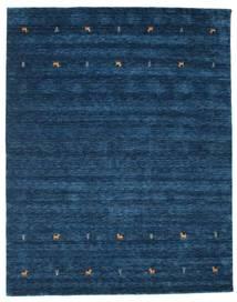 Gabbeh Loom Two Lines - Bleu Foncé Tapis 240X290 Moderne Bleu Foncé (Laine, Inde)