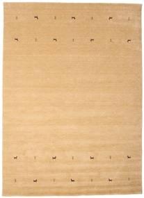 Gabbeh Loom Two Lines - Beige Tapis 240X340 Moderne Beige Foncé/Marron Clair (Laine, Inde)