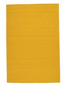 Kilim Loom - Jaune Tapis 160X230 Moderne Tissé À La Main Orange (Laine, Inde)