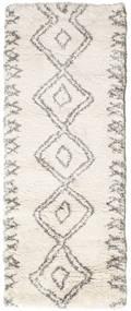 Berber Shaggy Massin Tapis 80X200 Moderne Tapis Couloir Beige/Gris Clair ( Turquie)