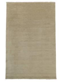 Handloom Fringes - Greige Tapis 300X400 Moderne Gris Clair Grand (Laine, Inde)