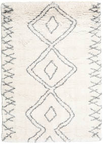Berber Shaggy Massin Tapis 140X200 Moderne Beige/Gris Clair ( Turquie)