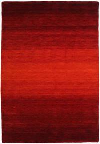 Gabbeh Rainbow - Rouge Tapis 160X230 Moderne Rouille/Rouge/Rouge Foncé/Marron Foncé (Laine, Inde)