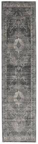 Jacinda - Anthracite Tapis 80X300 Moderne Tapis Couloir Gris Clair/Marron Foncé ( Turquie)