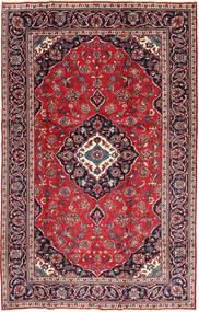 Kashan Patina Tapis 188X295 D'orient Fait Main Rouge Foncé/Violet Foncé (Laine, Perse/Iran)