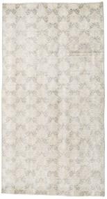 Colored Vintage Tapis 107X198 Moderne Fait Main Gris Clair/Beige Foncé (Laine, Turquie)