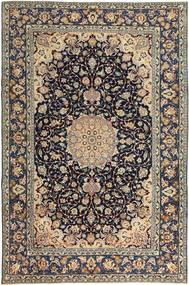 Najafabad Patina Tapis 231X353 D'orient Fait Main Gris Clair/Noir (Laine, Perse/Iran)