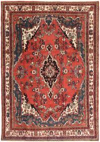 Hamadan Patina Tapis 207X297 D'orient Fait Main Marron Foncé/Rouge Foncé (Laine, Perse/Iran)