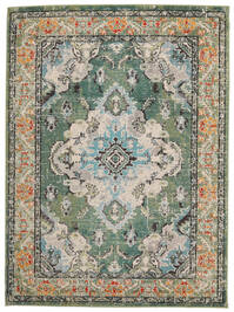 Leia - Vert Tapis 120X170 Moderne Gris Clair/Vert Foncé ( Turquie)