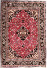 Mashad Patina Tapis 195X278 D'orient Fait Main Rouge Foncé/Rouille/Rouge (Laine, Perse/Iran)