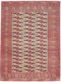 Turkaman Patina Tapis 131X177 D'orient Fait Main Rouge Foncé/Marron (Laine, Perse/Iran)