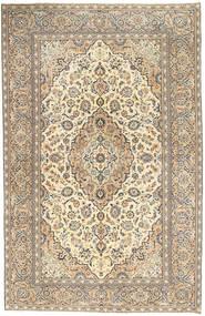 Kashan Patina Tapis 190X296 D'orient Fait Main Gris Clair/Beige Foncé (Laine, Perse/Iran)