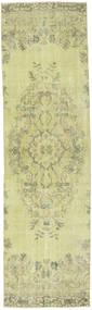 Colored Vintage Tapis 81X290 Moderne Fait Main Tapis Couloir Vert Clair/Beige Foncé (Laine, Turquie)