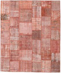 Patchwork Tapis 251X300 Moderne Fait Main Rose Clair/Rouge Foncé Grand (Laine, Turquie)