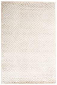 Grace Tapis 200X300 Moderne Fait Main Gris Clair/Blanc/Crème/Beige ( Inde)