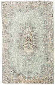 Colored Vintage Tapis 178X286 Moderne Fait Main Gris Clair/Vert Pastel (Laine, Turquie)