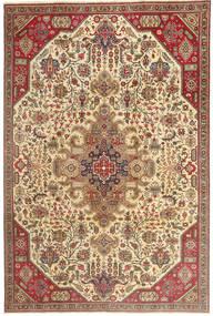 Tabriz Patina Tapis 190X280 D'orient Fait Main Marron Clair/Beige (Laine, Perse/Iran)