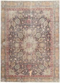 Colored Vintage Tapis 262X358 Moderne Fait Main Gris Clair/Marron Clair Grand (Laine, Perse/Iran)
