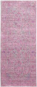 Maharani - Gris/Rose Tapis 80X200 Moderne Tapis Couloir Rose Clair/Rose ( Turquie)