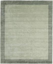 Handloom Frame - Gris/Vert Tapis 250X300 Moderne Vert Clair/Vert Pastel Grand (Laine, Inde)