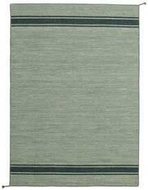 Ernst - Vert/Foncé _Green Tapis 140X200 Moderne Tissé À La Main Vert Clair (Laine, Inde)