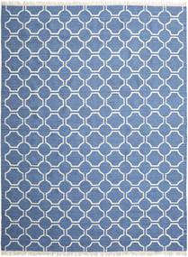 London - Bleu/Blanc Écru Tapis 300X400 Moderne Tissé À La Main Bleu/Beige Grand (Laine, Inde)