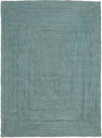 Frida Color - Turquoise Tapis 160X230 Moderne Tissé À La Main Bleu Turquoise/Bleu Turquoise ( Inde)