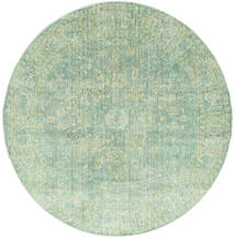 Maharani - Vert Tapis Ø 200 Moderne Rond Vert Pastel ( Turquie)