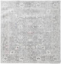 Maharani - Gris Tapis 150X150 Moderne Carré Gris Clair ( Turquie)