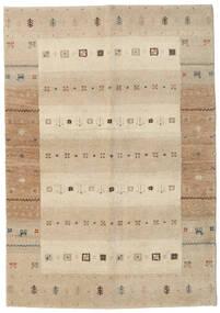 Gabbeh Indo Tapis 138X198 Moderne Fait Main Tapis Couloir Beige/Gris Clair (Laine, Inde)