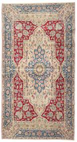 Kerman Patina Tapis 115X220 D'orient Fait Main Beige/Gris Clair (Laine, Perse/Iran)